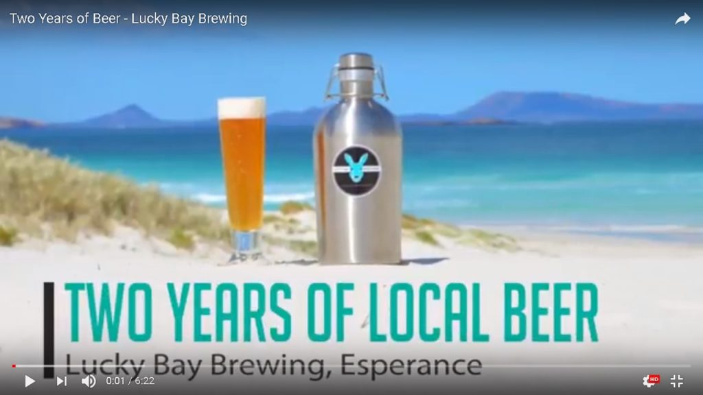 Esperance, Lucky Bay Brewing, local beer, craft beer, Western Australia