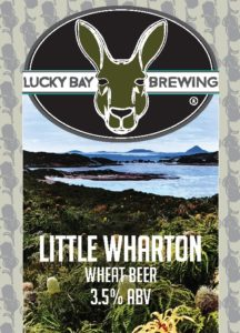 Little Wharton Wheat Beer by Lucky Bay Brewing
