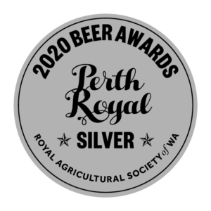 Lucky Bay Brewing 'Cyclops' India Pale Ale - winner of silver medal for best IPA at 2020 Perth Royal Beer Awards
