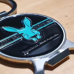Lucky Bay Brewing Key Ring combined with Bottle Opener