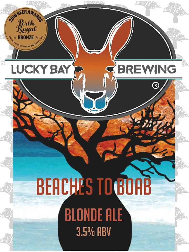 Beaches to Boab Blonde Ale - Lucky Bay Brewing