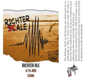 Richter Ale - Meckering beer