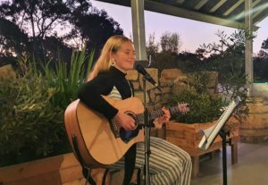 Live acoustic music at Lucky Bay Brewing, Esperance