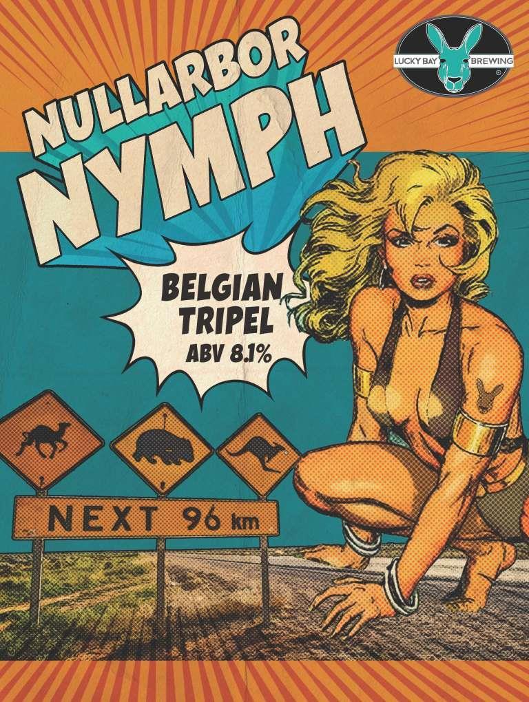 Nullarbor Nymph - Belgian Tripel
