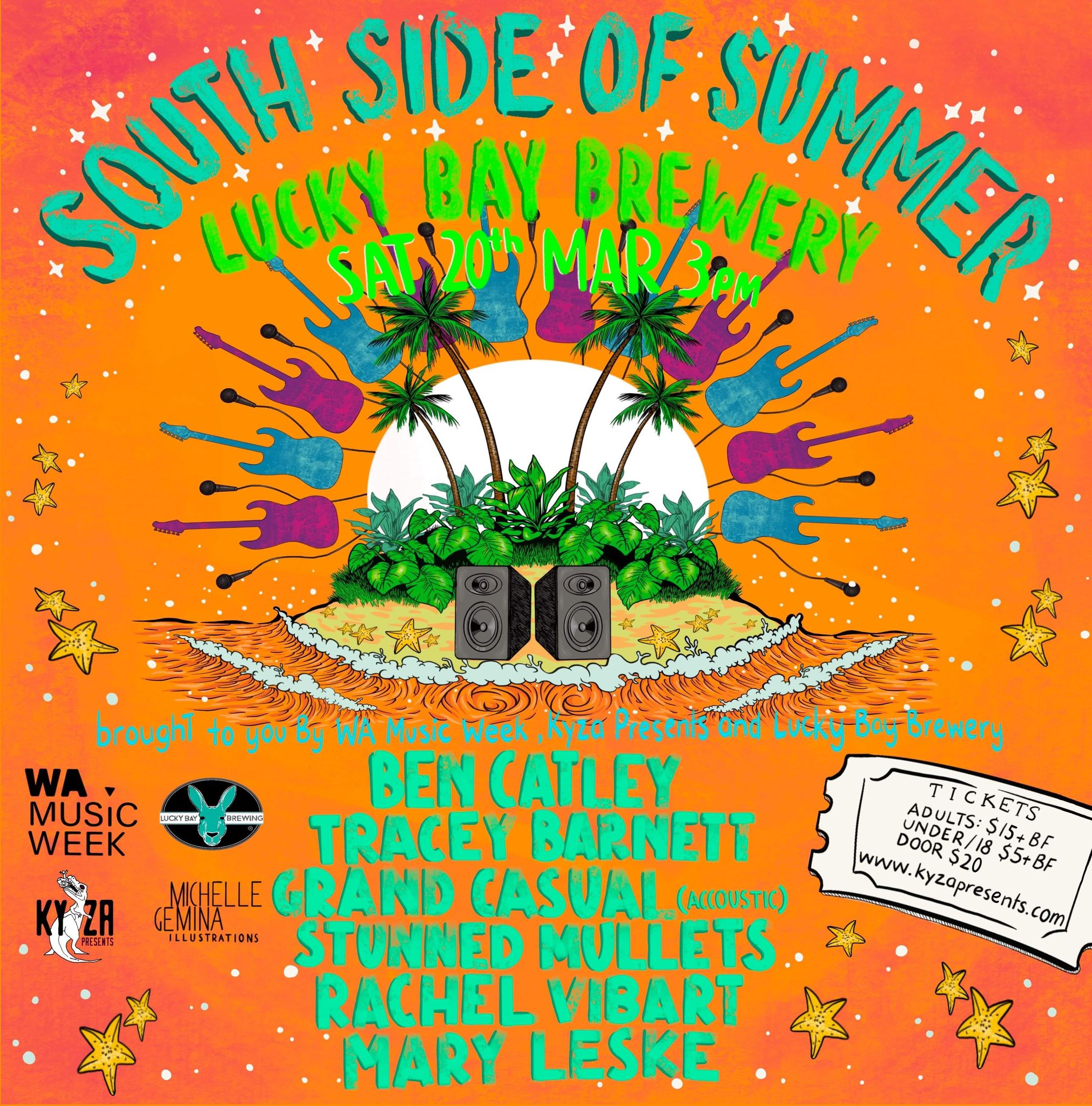 South Side of Summer Festival at Lucky Bay Brewing