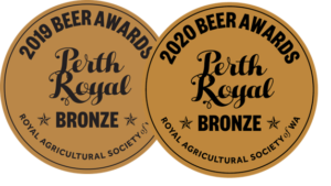 Lucky Bay Brewing 'Beaches to Boab' blonde ale - Bronze medal winner in 2019 and 2020 for best low alcohol beer at Perth Royal Beer Awards
