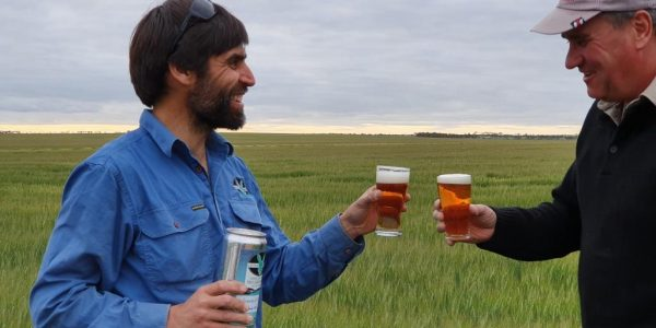 From paddock to pint - Lucky Bay Brewing keeping it real.
